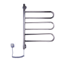 Полотенцесушитель Elna Флюгер-3 540х479х35 поворотная нержавейка с регулятором температуры