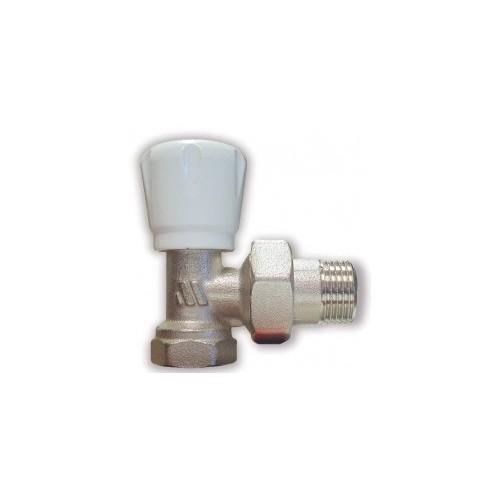 Никелированный регулирующий клапан ручного управления 163R