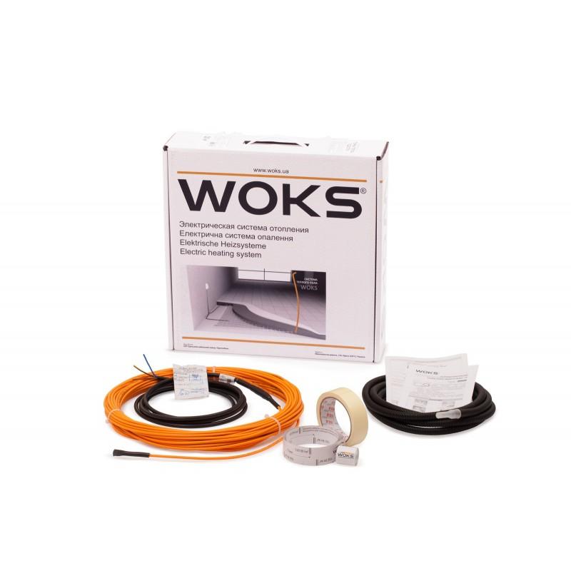 Комплект для тонкого теплого пола Woks 10 под ламинат / в плиточный клей