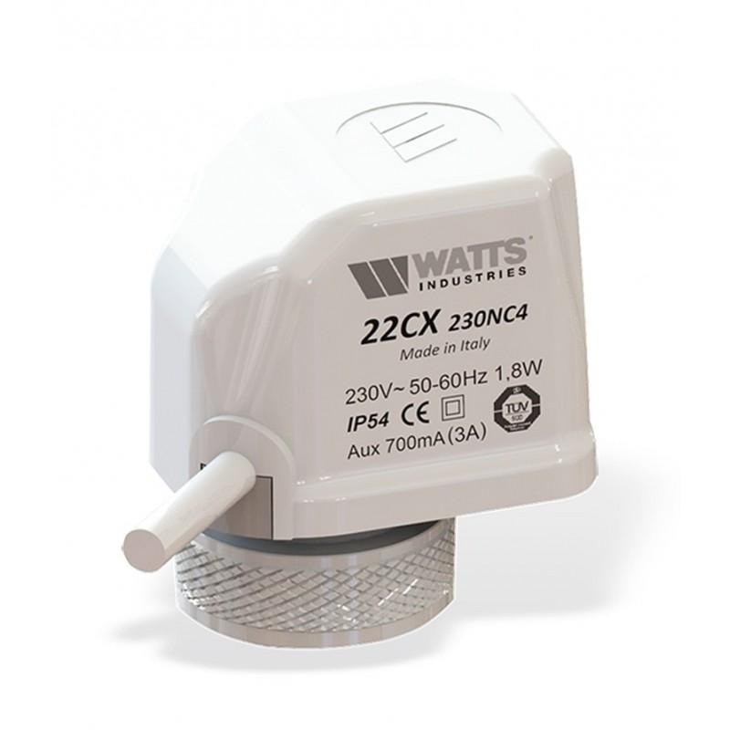 Электротермический сервопривод 22CX (230В, НО)