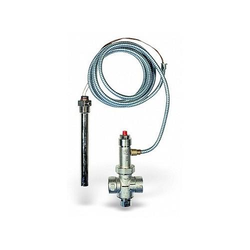 Термоклапан для защиты твердотопливных котлов от перегрева STS