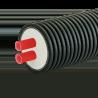 ПРЕДИЗОЛИРОВАННАЯ ТРУБА AustroPUR double 40 мм, кожух 175 мм