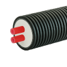 ПРЕДИЗОЛИРОВАННАЯ ТРУБА AustroPUR double 50 мм, кожух 200 мм
