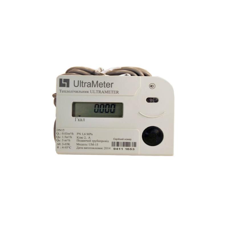 Счетчик тепла механический Ultrameter-X модель G-0.6 Ду 15