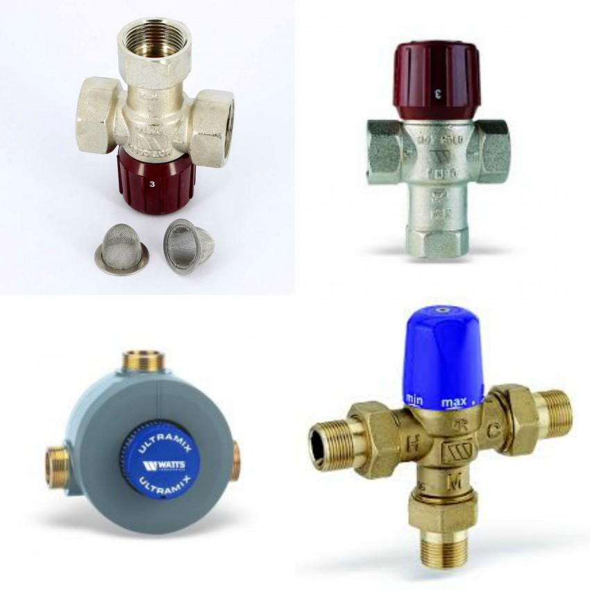 Смесительные клапаны для отопления и гвс