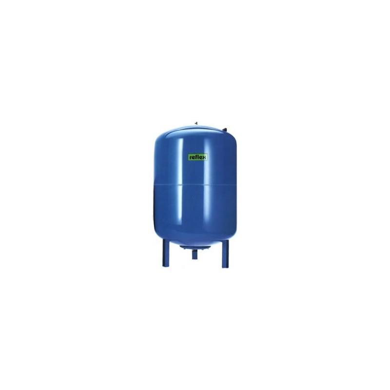Мембранный расширительный бак Reflex Refix DE 80 л 10 бар синий