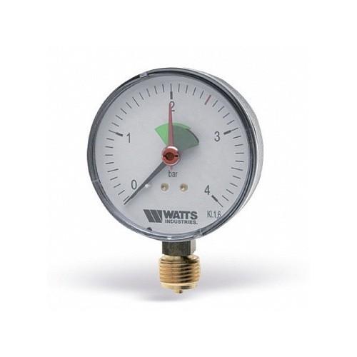 Манометр радиальный F+R201 (MRP) 63мм,, 0-4 Бар