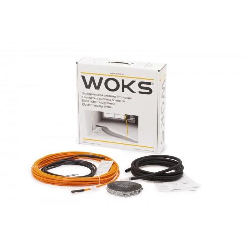 Комплект для теплого пола Woks 17 в стяжку / под плитку
