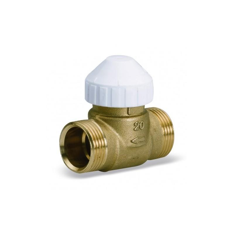 Двухходовой латунный зональный клапан для фанкойлов 2131 (ZV2131)