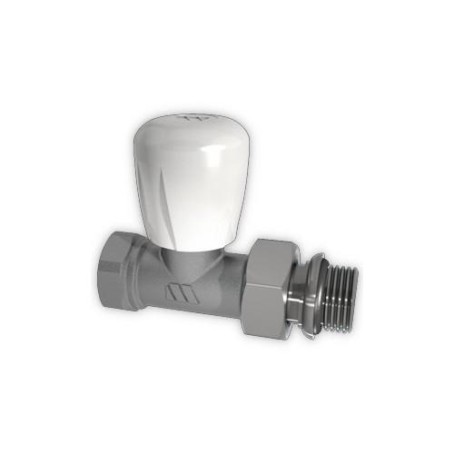 Никелированный регулирующий клапан ручного управления, прямой 164R