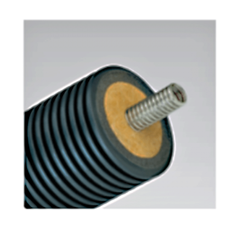 Предизолированная соларная труба AUSTROSOLAR А 125-1 одинарная без кабеля
