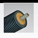 Предизолированная соларная труба AUSTROSOLAR А 125-1/DN 20, одинарная без кабеля